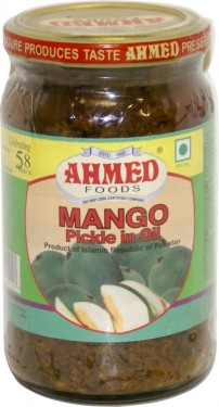 Poze Ahmed Mango Pickle (Reg) 330g