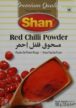 Poze SHAN RED CHILLI POWDER 100G