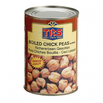 Poze TRS Canned Boiled Chick Peas (Naut Conservat) 400g