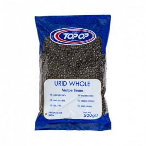 TOPOP Urid Whole Black (Linte Neagra Bob Intreg Urid) 500g