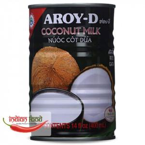 Aroy-D Canned Coconut Milk (Lapte de Cocos) 400ml