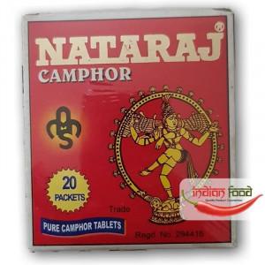 CAMPHOR Tablets Natraj (Camfor Pastile Pure) 40g