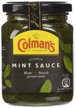 Colman's Sauce Clasic Mint (Jar) 250ml
