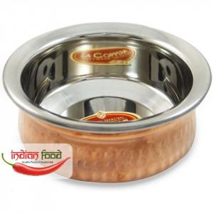 Copper Bottom Handi (Bol Indian din Cupru 2 portii)