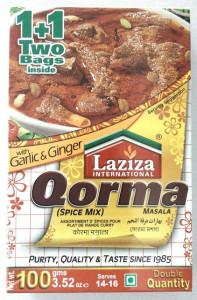 LAZIZA Qorma Masala (Condiment pentru Qorma) 100g