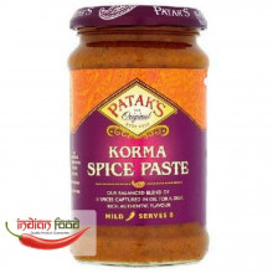 PATAK Korma Spice Paste Mild (Pasta Indiana Condimenta pentru Korma Mediu) 290g
