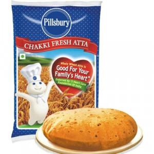 PILLSBURY Chakki Atta (Faina de Grau Indiana) 2kg