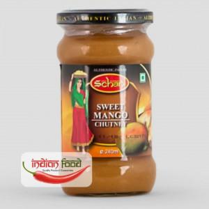 Schani Mango Chutney Sweet ( Pasta de Mango Dulce Chutney) 240ml