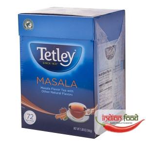 Tetley Masala Round 72 Tea Bags (Ceai Masala cu Alte Arome Naturale) 72 pliculete