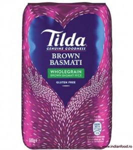 Tilda Brown Basmati Rice (Orez Basmati Integral Brun) 500g