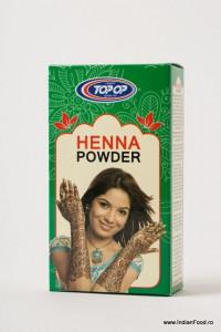 TOPOP Henna Mehendi Red (Henna Rosu Pudra) 100g