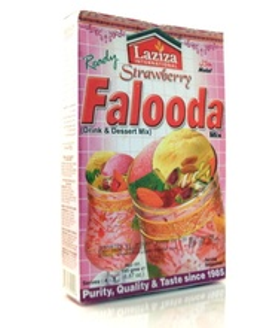 LAZIZA Falooda Strawberry (Desert Pakistanez de Capsuni) 200g