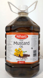 NIHARTI Mustard Oil (Ulei deMustar) 5L