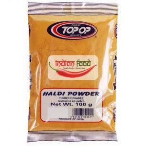 TopOp Haldi Turmeric Powder (Curcuma Macinata) 100g
