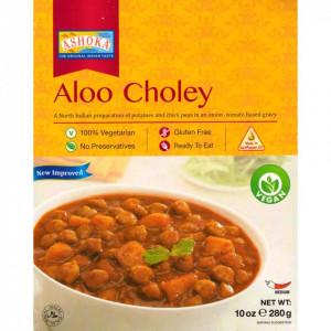 ASHOKA Heat & Eat Aloo Chole (Mancarica de Cartofi cu Naut) 280g
