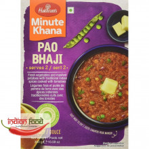 Haldiram's Ready To Eat Pao Bhaji (Tocanita de Legume Mixte in Stil Indian) 300g