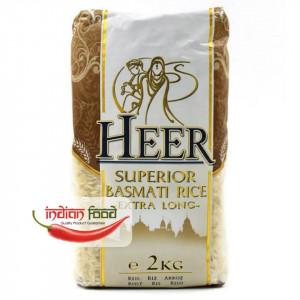 Heer Superior Basmati Rice Extra Long (Orez Basmati Bob Lung) 2 kg