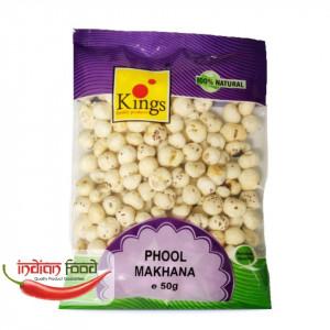 Kings Phool Makhana (Seminte de Lotus Coapte ) 50g