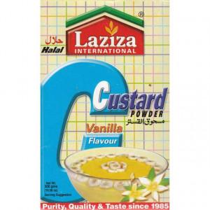 LAZIZA Custard Powder Vanilla (Budinca de Vanilie Semi-Preparata) 300g