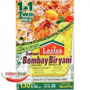 LAZIZA Zafrani Bombay Biryani Masala (Condiment pentru Orez cu Carne) 130g