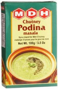 MDH Chutney Podina Masala (Condiment pentru Sos de Menta) 100g