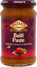 Pataks Paste Balti Curry Mild (Pasta Indiana pentru Curry Mediu ) 283 g