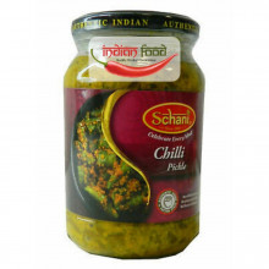 Schani Chilli Pickle (Muraturi de Ardei Iute) 500g