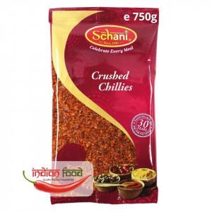 Schani Chillies Crushed (Ardei Iute Pisat) 750g