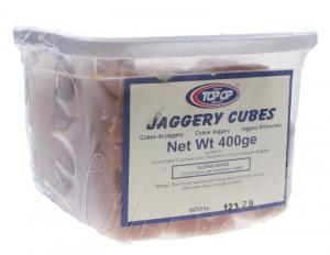 TopOp Jaggery Cubes (Zahar Brut forma Cubica) 400g