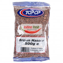 TOPOP Lentils Brown Whole Masoor (Linte Maro Masoor)