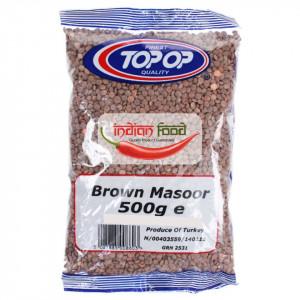 TOPOP Lentils Brown Whole Masoor (Linte Maro Masoor)