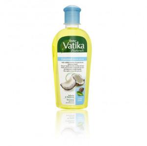 VATIKA Coconut Hair Oil Castor & Henna (Ulei de Cocos pentru Par Ricin+Frunze de Henna) 200ml