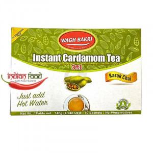 Wagh Bakri Instant Tea Cardamom Sweetened (Ceai Instant - 10 pliculete) 140g
