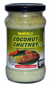 WEIKFIELD Coconut Chutney (Chutney de Cocos) 283g
