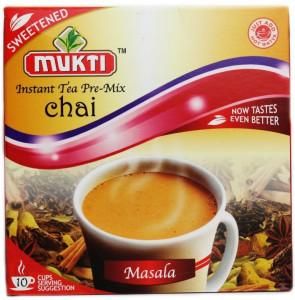 Mukti Instant Tea Masala Sweetened (Ceai Masala Instant - 10 pliculete) 220g