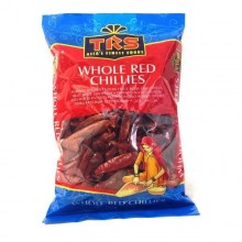 TRS Chillies Whole Red Long (Ardei Intreg Uscat Rosu) 150g