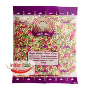 Annam Sugar Coated Fennel Seeds (Fenicul suflat cu Zahar) 100g