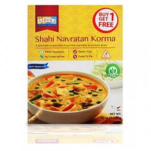 ASHOKA Heat & Eat Shahi Navratan Korma (Mancarica de Legume Mixte in Sos Cremos ) 280g