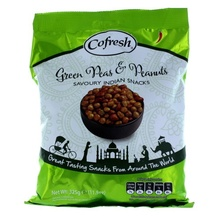 COFRESH Spicy Green Peas and Peanut (Snacks Mixt Mazare si Arahide) 325g