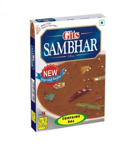 GITS Sambhar Mix (Supa de Linte Indiana Semi-Preparata) 100g