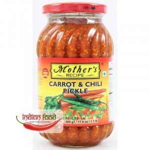 Mother's Recipe Carrot and Chilli Pickle (Muraturi de Ardei si Morcov ) 500g