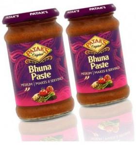 PATAK'S Bhuna Masala (Pasta Indiana Condimentata Bhuna) 283g