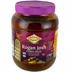 PATAK'S Rogan Josh Paste (Pasta Indiana Pentru Carne de Miel in Sos Mediu) 2.3kg