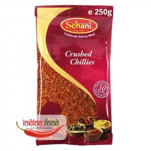 Schani Chillies Crushed (Ardei Iute Pisat) 250g