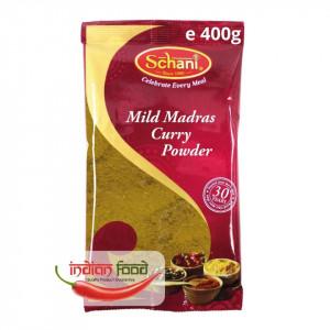 Schani Mild Madras Curry Powder (Condiment pentru Curry Mediu) 400g