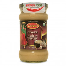 Schani Minced Garlic & Ginger Paste (Pasta de Ghimbir si Ustuoi) 250ml
