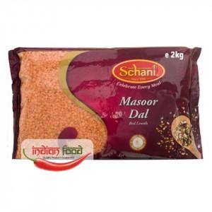Schani Red Lentils Masoor Dal (Linte Rosie) 2kg
