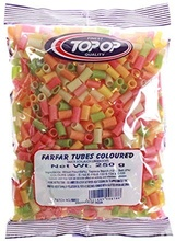 Top op Far Far Tubes (Snacks Rulou) 250g