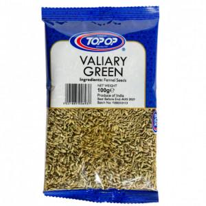 Top Op Valiary Green Fennel Seeds (Seminte de Fenicul) 100g