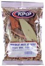 TOPOP Whole Mixed Spice Garam Masala Whole (Amestec de Condimente Indiene Intregi) 100g
